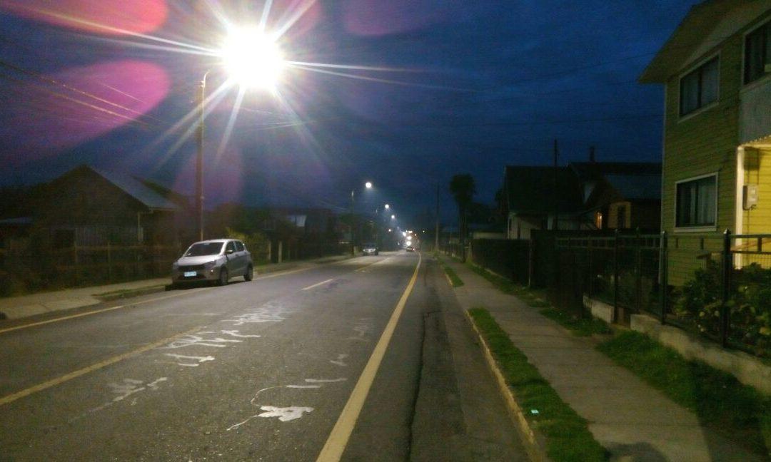 Primer proyecto de INGEM en Chile – Instalación de iluminación vial eficiente