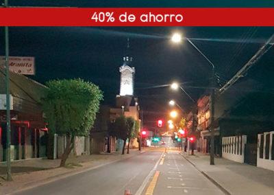 Reemplazo de alumbrado público en Municipalidad de La Unión, Chile