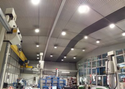 Diseño e instalación de iluminación eficiente para Matricería Deusto – Grupo GESTAMP