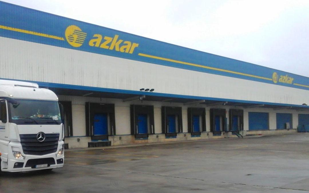 Iluminación eficiente y monitorización de consumo para Transportes Azkar (Grupo Dachser)